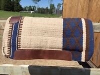Saddle Pads/blanket and English Saddle