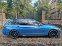66 PLATE BMW 318d M SPORT TOURING DIESEL AUTO 57,087 MILES M PERFORMANCE 19''