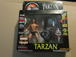 4 Collectable Tarzan action figures