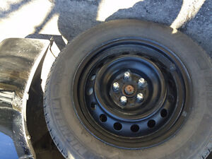 15 inch steel rims 5 bolts 4 set
