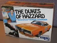 Model Kit MPC The Dukes of Hazard General Lee Dodge Charger Car