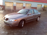 05 Nissan Sentra, Special-Edition MINT (ONLY 165KM & $4700 OBO)