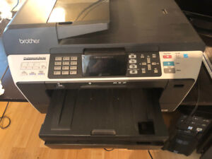 Brother Multi-Function Printer - letter to tabloid sizes