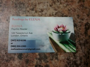 PSYCHIC READINGS BY ELENA LUNNA