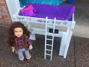 Journey Girl doll and loft bed