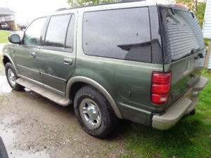 2001 expedition eddie bauer edition $1400 firm serious inq only