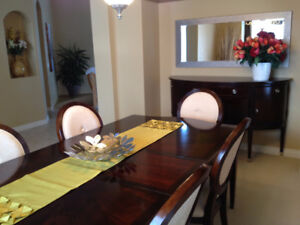 Beautiful Dining Room Table and Buffet
