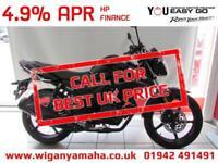 YAMAHA YS125 4.9% APR FINANCE 99 DEPOSIT. Learner Legal 125cc commuter bike.