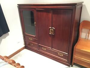 Solid Cherrywood Cabinet by Thomasville