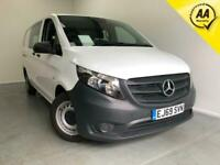 2019 Mercedes-Benz Vito 116 Cdi L2 H1 Crew Van Automatic 1 Owner Finance Px Crew