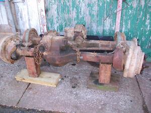 2-1/2 tone rockwell axles