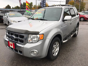 2008 Ford Escape LIMITED 4X4 SUV...LOADED...EXCELLENT  COND.
