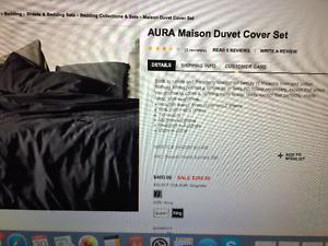Aura Kingsize Duvet Cover Set