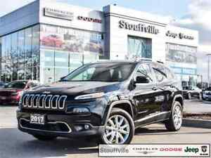 2017 Jeep Cherokee Limited, Company CAR 4X4, Safety/Tech Loaded