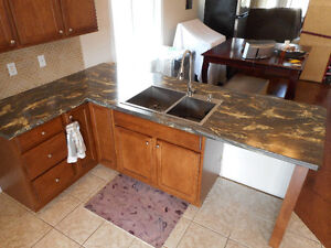 Kitchen Counter Tops - only 2 years old