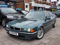 """1996 BMW 740 4.4 AUTOMATIC MEMORY SEATS SUNROOF COILOVERS PRIVATE PLATE """"P74OFM"""""""