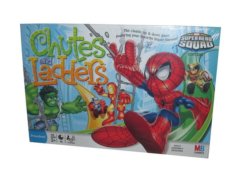 Chutes and Ladders Superhero Squad