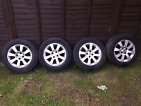 15 inch Alloy wheels for small Vauxhall
