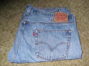Mens Brand new Levis button fly 501 stone washed jeans