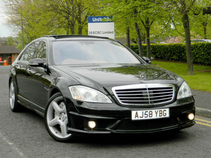 Mercedes benz s class 6 0 s65 amg limousine 4dr 612 bhp for Mercedes benz mechanic jobs