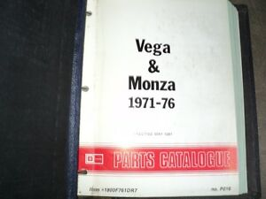 Original General Motors Parts Manuals