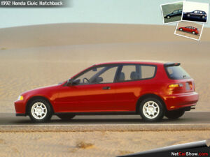 Looking for a Honda Civic Hatchback 1992-1995.