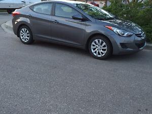 2013 Hyundai Elantra GL Sedan - On warranty until aug 2017