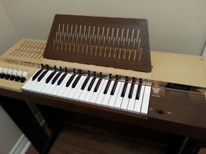 VINTAGE Bontempi Electric Organ With Stand