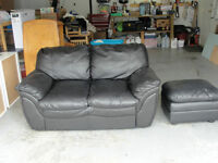 **LOVE SEAT AND FOOT STOOL**