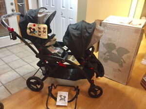 BRAND NEW - Contours double stroller