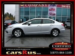 2013 Honda Civic LX Was $14,995 Plus Tax Now $14,995 Tax In!