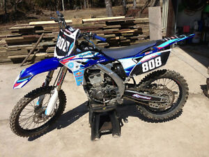 Very clean very fast yz250f.  Cheap price to sell fast! Peterborough Peterborough Area image 4