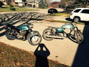 Suzuki T500 project bikes for sale