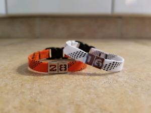 Skate lace bracelets