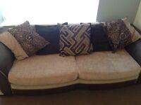Dfs 4 seater sofa and large spinning chair