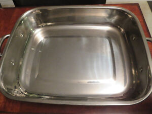 Kitchen Aid Stainless Steel Roaster & Lid