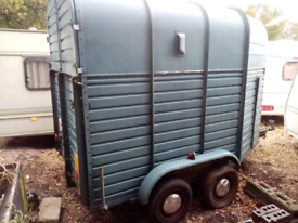 Rice's two horse trailer