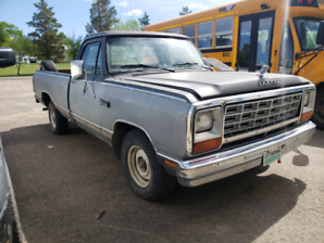 1984 Dodge D100 for trade