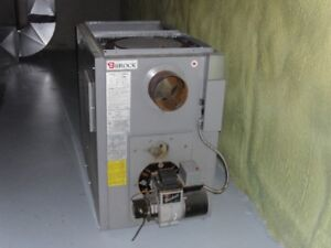 Brock Forced Air Oil Furnace