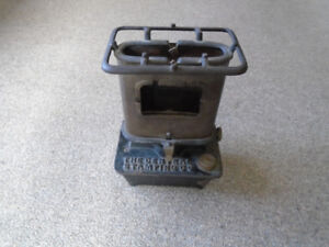 Antique Cast Iron Heater Stove