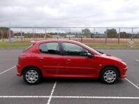 2005 Peugeot 206 1.4HDi 70 ( a/c ) COMPLETE WITH MOT HPI CLEAR WARRANTY INC