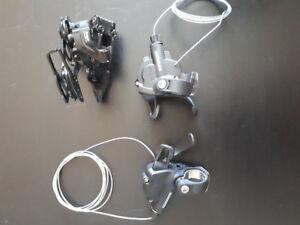SRAM X4 Trigger Shifters and X4 Rear Derailleur (8-Speed)