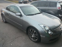 G35 Coupe 6MT 84000Miles