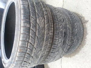 225 40 r 18 yokohoma tires   Set of 3 only Kitchener / Waterloo Kitchener Area image 1