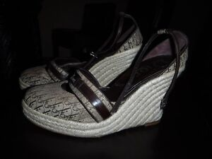 Authentic Dior Wedge shoes