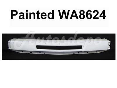 Painted Summit White WA8624 Front Impact Bar W/Hole For 07-13 Silverado 1500