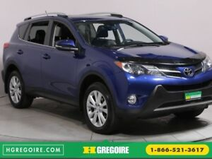 2015 Toyota Rav 4 Limited MAGS BLUETOOTH CUIR CAMERA RECUL TOIT