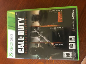 Xbox 360 call of duty games in good condition