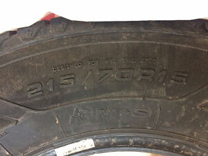 Goodyear Nordic Winter studded tires 215/70 R15