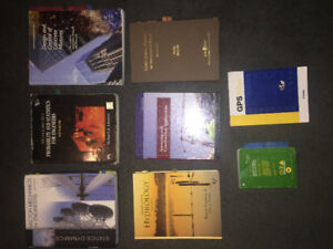 Lakehead Univrsity: Civil Engineering Textbooks